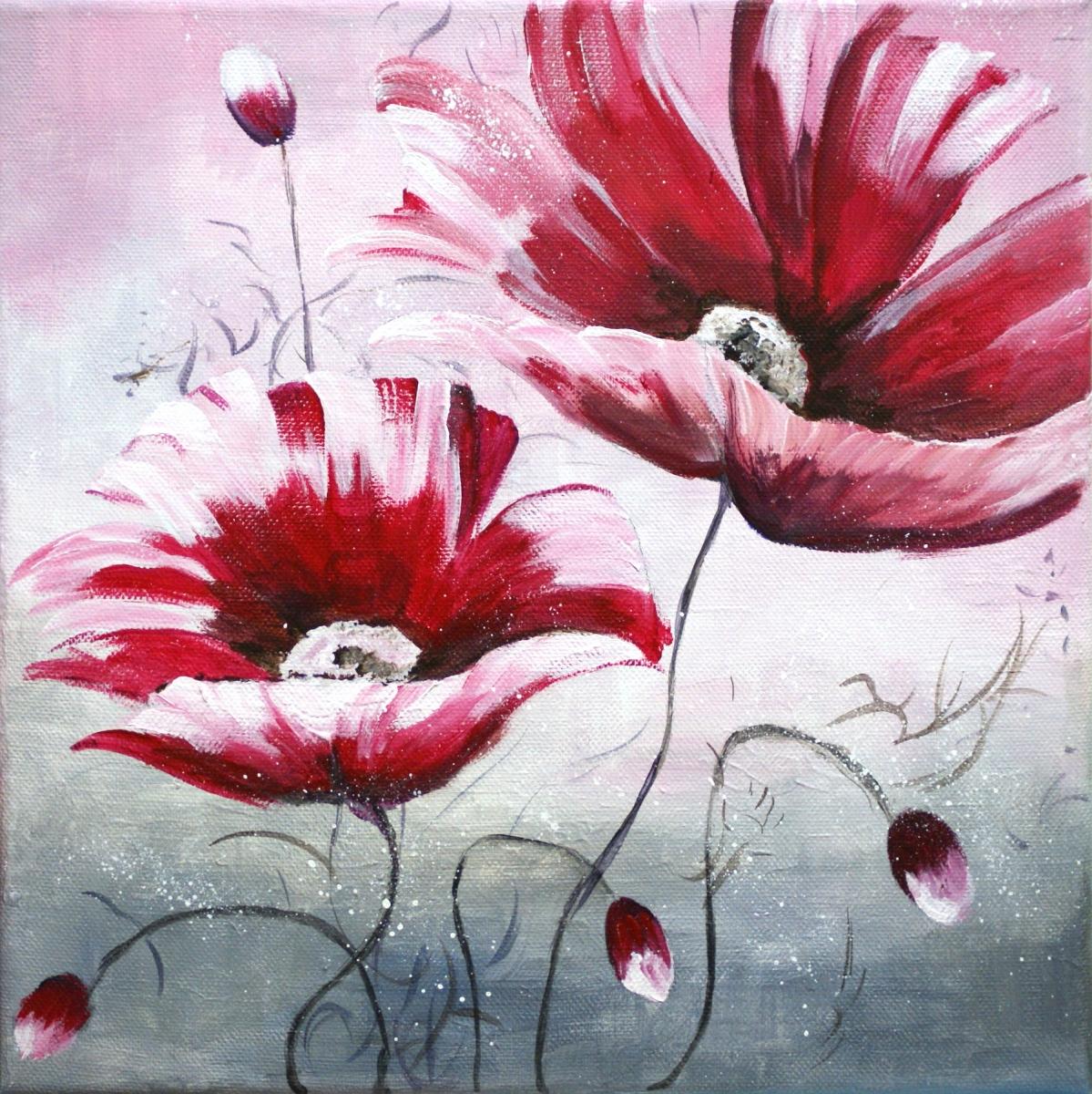 Geliefde bloemen schilderen met acrylverf lb56 belbin info for Schilderijen van bloemen
